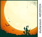 vector illustration of a... | Shutterstock .eps vector #485209324