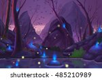 Ghost Forest. Video Game's...