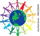 vector people of different...   Shutterstock .eps vector #48523840