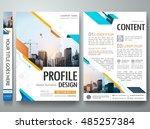 cover book presentation... | Shutterstock .eps vector #485257384