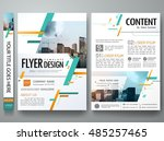 cover book portfolio... | Shutterstock .eps vector #485257465