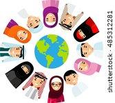 vector illustration of... | Shutterstock .eps vector #485312281