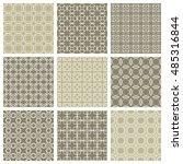 seamless geometric line...   Shutterstock .eps vector #485316844