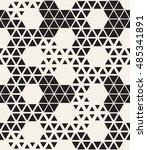 vector seamless pattern. modern ... | Shutterstock .eps vector #485341891