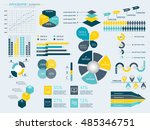 infographic elements collection ... | Shutterstock .eps vector #485346751