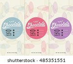 Chocolate Bar   Vector Set Of...
