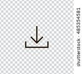 download icon vector  clip art. ...