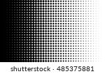 gradient background with dots... | Shutterstock .eps vector #485375881
