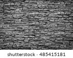 rough brick wall | Shutterstock . vector #485415181