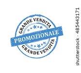 big sales  now     italian... | Shutterstock .eps vector #485443171