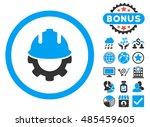 development icon with bonus... | Shutterstock .eps vector #485459605