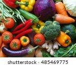 Vegetables Background ...