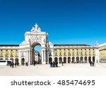 lisbon  portugal.  march 10 ...   Shutterstock . vector #485474695
