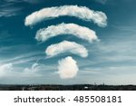 Clouds In The Shape Of A Wifi...