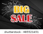 big sale | Shutterstock .eps vector #485521651