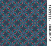 seamless background of... | Shutterstock .eps vector #485533561