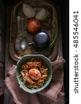 gluten free fried noodles with...