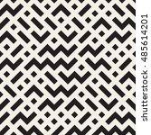 vector seamless black and white ... | Shutterstock .eps vector #485614201