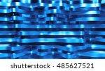 abstract 3d rendering of... | Shutterstock . vector #485627521