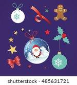christmas  | Shutterstock .eps vector #485631721