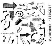 set of arrows. vector | Shutterstock .eps vector #485662357