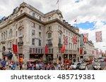london  england   july 24  2016 ... | Shutterstock . vector #485719381
