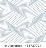 vector ornamental continuous... | Shutterstock .eps vector #485727724