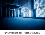 view of city square in china. | Shutterstock . vector #485795287