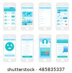 mobile app wireframe ui kit....