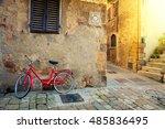 Old Mediterranean Town Street...