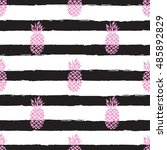 seamless repeating pattern with ... | Shutterstock .eps vector #485892829