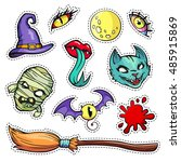 Colorful Patch Badges Of...
