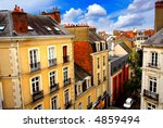 Street With Colorful Houses In...