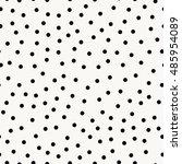 random dots pattern  vector... | Shutterstock .eps vector #485954089