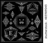 vector set of vintage elements...