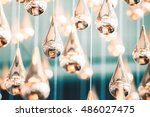 christmas background in... | Shutterstock . vector #486027475