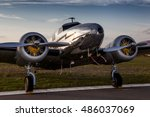 Small photo of The Lockheed Electra Junior is an eight-seat, six-passenger all-metal twin-engine transport aircraft of the late thirties designed for use by small airlines, companies, and wealthy individuals.