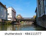 cambridgeshire england   july... | Shutterstock . vector #486111577