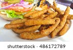 Deep Fried Green Beans With ...