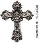 detailed cross illustration | Shutterstock .eps vector #48618130