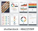 infographic vector set.... | Shutterstock .eps vector #486225589