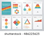 infographic vector set.... | Shutterstock .eps vector #486225625