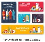 firefighter  rafting  police ...   Shutterstock .eps vector #486233089
