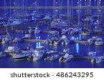 italy  sicily  mediterranean... | Shutterstock . vector #486243295