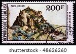 togo   circa 1978  a stamp... | Shutterstock . vector #48626260