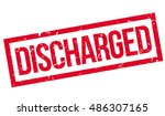 Discharged Rubber Stamp On...