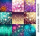 universal different bokeh...   Shutterstock .eps vector #486346195