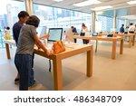 hong kong   circa september ... | Shutterstock . vector #486348709