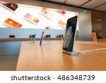 hong kong   circa september ... | Shutterstock . vector #486348739