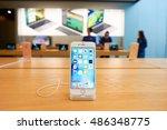 hong kong   circa september ... | Shutterstock . vector #486348775